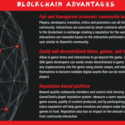 BLOCKCHAIN-ADVANTAGES