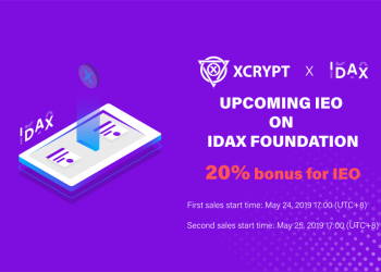 XCRYPT x IDAX IEO portada 350x250 - XCrypt: An exciting future-proof crypto exchange taking the IEO route