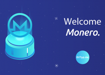 welcome monero2 350x250 - Flyp.me implements Monero's sub-addresses